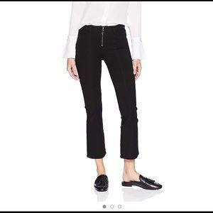 PAIGE Colette Crop High Rise Flare Leg Jean